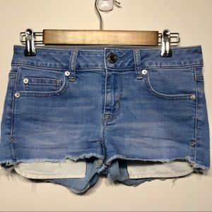 """American Eagle Outfitters """"Shortie"""" Shorts, Size 4"""